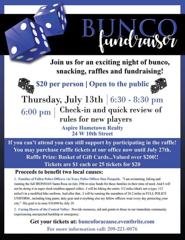 Bunco fundraiser